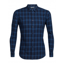 Mens Compass Flannel LS Shirt by Icebreaker in Nelson Bc