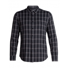 Mens Compass Flannel LS Shirt by Icebreaker in Burnaby Bc