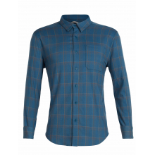 Mens Compass Flannel LS Shirt by Icebreaker in Nanaimo Bc