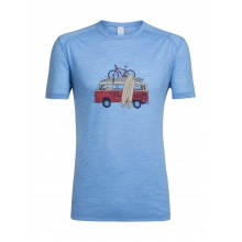 Men's Sphere SS Crewe Van Surf Life by Icebreaker in Glenwood Springs CO