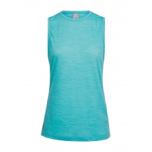 Women's Sphere Sleeveless Tee by Icebreaker in Cold Lake Ab