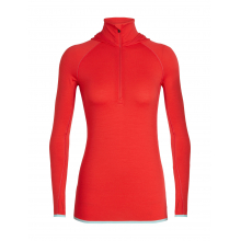 Women's Fluid Zone LS Half Zip Hood