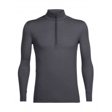 Men's Zeal LS Half Zip by Icebreaker in Cochrane Ab