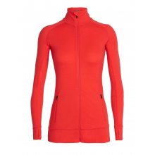 Women's Fluid Zone LS Zip by Icebreaker in Sacramento Ca