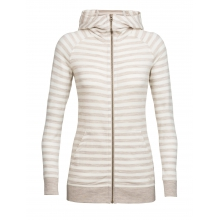Women's Crush LS Zip Hood by Icebreaker in Lethbridge Ab