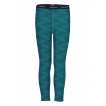 Kids 200 Oasis Leggings Curve by Icebreaker in Spruce Grove Ab