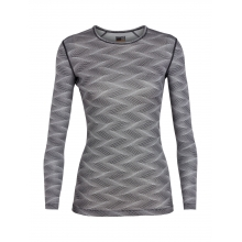 Women's 200 Oasis LS Crewe Curve by Icebreaker in Whistler Bc