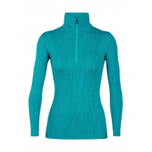 Women's 250 Vertex LS Half Zip Drift by Icebreaker in Victoria Bc