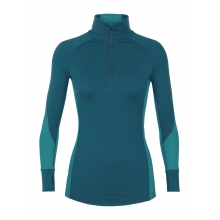 Women's 260 Zone LS Half Zip by Icebreaker in Revelstoke BC