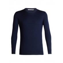 Men's Shearer Crewe Sweater by Icebreaker in Red Deer County Ab