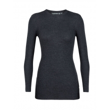 Women's Valley Slim Crewe Sweater by Icebreaker in Delta Bc