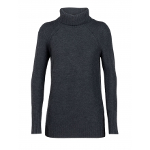 Women's Waypoint Roll Neck Sweater by Icebreaker in Spruce Grove Ab