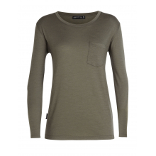 Women's Tech Lite LS Pocket Crewe by Icebreaker