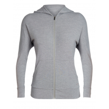 Women's Momentum LS Zip Hood by Icebreaker in Lethbridge Ab
