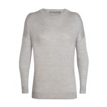 Woman's Nova Sweater Sweatshirt by Icebreaker in Golden Co