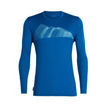 Mens Tech Lite LS Crewe Remarkables by Icebreaker