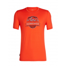 Mens Tech Lite SS Crewe Cook Crest by Icebreaker in Red Deer County Ab