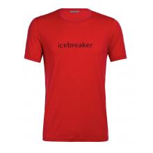 Men's Icebreaker Logo SS Crewe Icebreaker Wordmark by Icebreaker