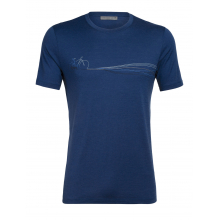 Mens Tech Lite SS Crewe Cadence Paths