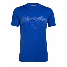 Mens Tech Lite SS Crewe Peak Patterns