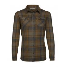 Men's Lodge LS Flannel Shirt by Icebreaker