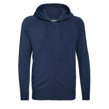Men's Nature Dye Helliers LS Zip Hood by Icebreaker