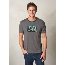 Men's Higher Living Logo Ringer by Prana in Medicine Hat Ab