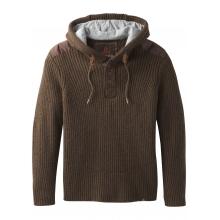 Men's Hooded Henley Sweater by Prana in Burbank Ca