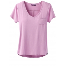 Women's Foundation SS V Neck Top by Prana