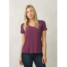 Women's Foundation SS V Neck Top by Prana in Wayne Pa
