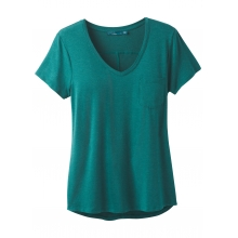 Women's Foundation Short Sleeve Vneck by Prana in Mobile Al