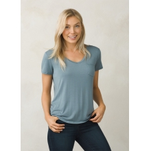 Women's Foundation SS V Neck Top by Prana in Baton Rouge La