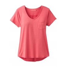 Women's Foundation Short Sleeve Vneck by Prana in Los Angeles Ca