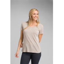 Women's Foundation Short Sleeve Vneck by Prana in Greenwood Village Co