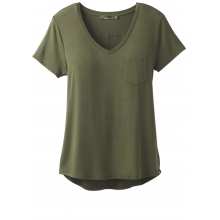 Women's Foundation SS V Neck Top by Prana in Nelson Bc