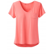 Women's Foundation SS V Neck Top by Prana in Canmore Ab