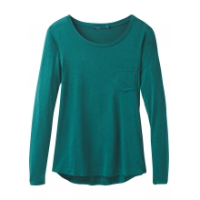Women's Foundation L/S Crew Neck Top by Prana in Bentonville Ar