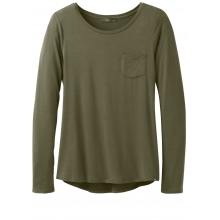 Women's Foundation L/S Crew Neck Top by Prana
