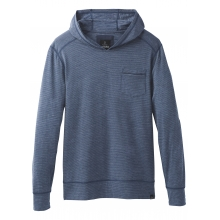 Men's Pacer LS Pullover Hood by Prana in Medicine Hat Ab