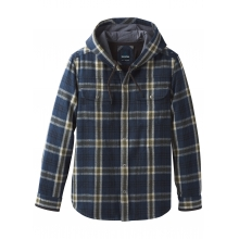 Men's Bolster LS Hooded Flannel by Prana in Revelstoke Bc