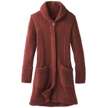 Women's Elsin Sweater Coat by Prana in Medicine Hat Ab