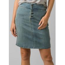 Women's Aubrey Denim Skirt by Prana in Dillon CO