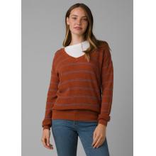 Women's Milani Vneck Sweater by Prana in Lakewood CO