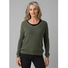 Women's Milani Vneck Sweater by Prana in Arcata CA