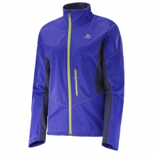 Lightning Softshell Jacket W by Salomon in Meridian Id