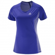 AGILE HEATHER TEE W by Salomon