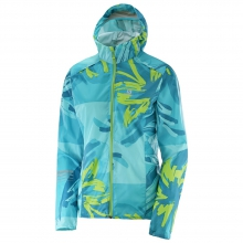 Lightning Wind Graph Hoodie W by Salomon