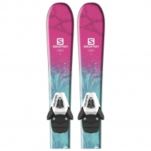 QST LUX Jr XS + C5 SR by Salomon