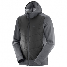 PULSE HYBRID HOODIE M by Salomon in Rocky View No 44 Ab