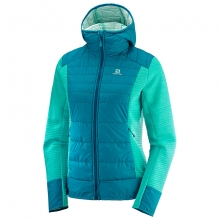 RIGHT NICE HYBRID HOODIE W by Salomon